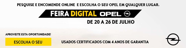 Campanha Opel Feira Digital Julho 2020